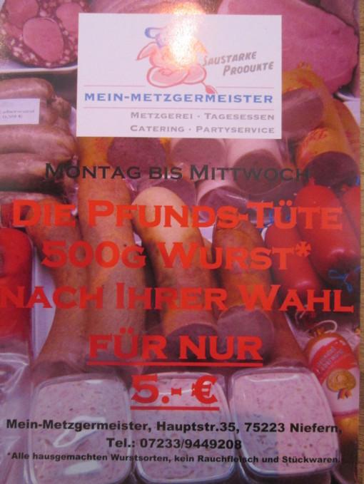 Fleischsorte Metzgermeister,  Mein-Metzgermeister Schinkensortiment, Schinken Qualität